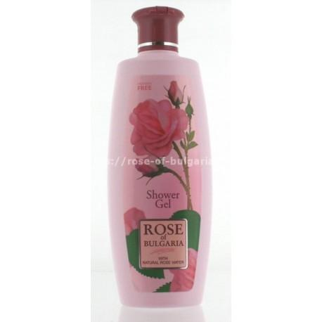 Gel douche à la rose de Bulgarie