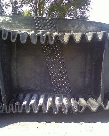 Стыковка конвейерных лент механическими соединителями