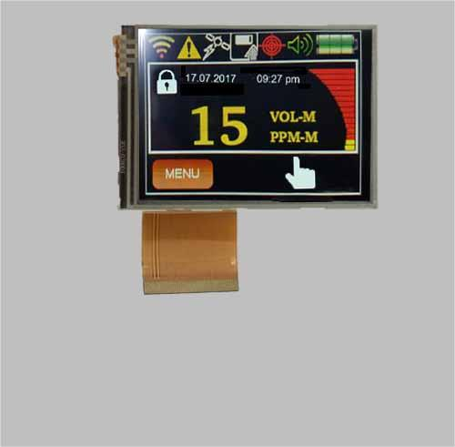2.8 inch ips tft lcd display module sunlight readable