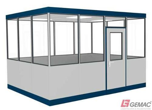 Hallenbüro Indoor Line 4-seitig