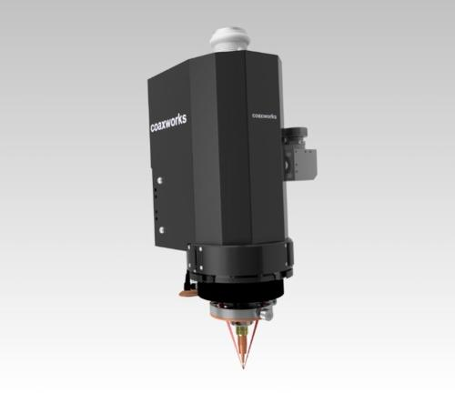 wire M - coaxial laser welding head for metallic wires