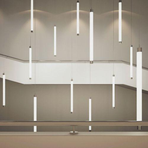 Plafoniera luce a 360 gradi tubo verticale o orizzontale