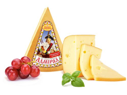 Натуральный твердый сыр