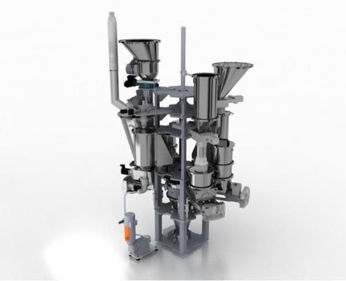Dosador-misturador para a indústria do plástico- SPECTROPLUS
