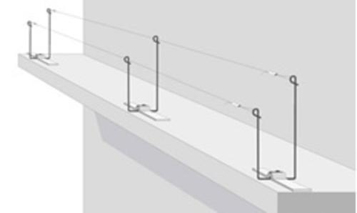 Taubenabwehr- u. Vogelschutz: das Spanndrahtsystem...