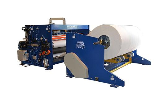 Slitter rewinder for hygienic papers
