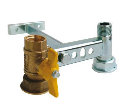 Complete bracket for gas meters - Serie ME0200