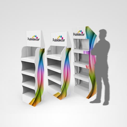 Displays box carton