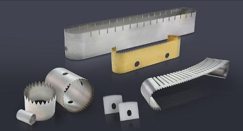 Knives for packaging applications