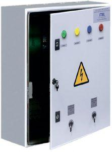 Outdoor lighting control cabinet (OLCC)
