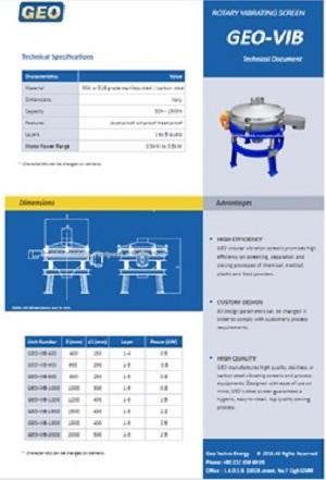 Rotary Vibrating Machine