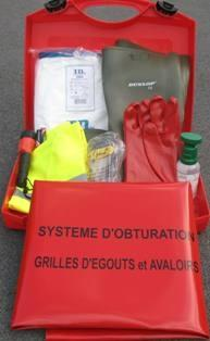 Kit ADR complet avec valise PE - V1
