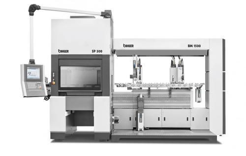 Servo production and assembly system - BIMERIC SP