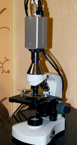 Профессиональный цифровой микроскоп монокулярный