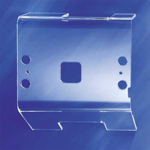 Customized antistatic finished parts & plastic sheets