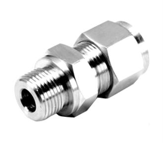 SS DOUBLE COMPRESSION FITTINGS