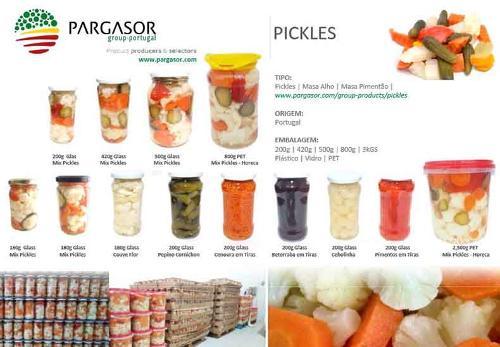 Pickles | Masa Alho | Masa Pimentão