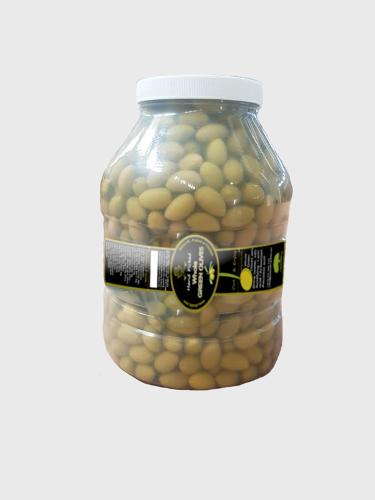 Green Olives. Bulk olives. For HORECA industry. 3800mL Jar