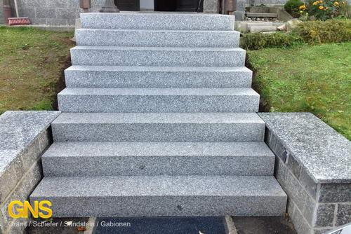 granit blockstufen