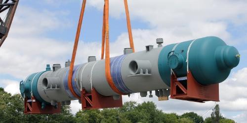 BORSIG Reformed gas waste heat boiler