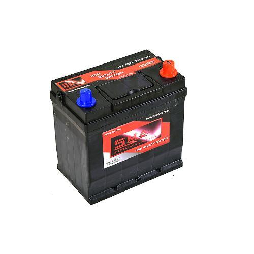 Batterie de démarrage de voiture asiatique 45ah
