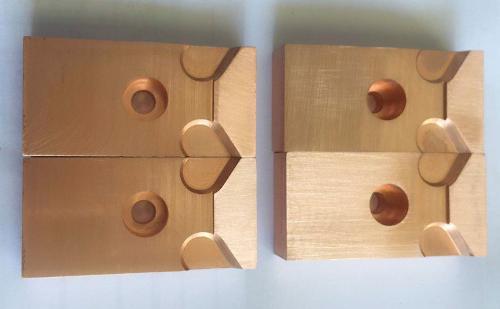 CNC machining Copper die