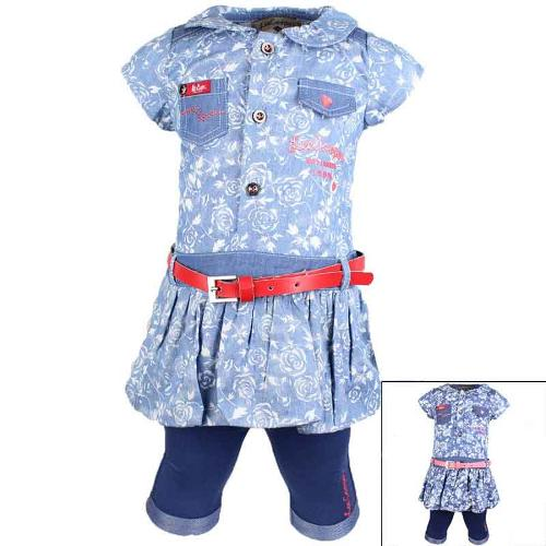 Wholesaler baby set of clothes licenced Lee Cooper