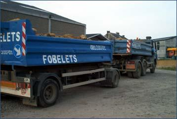 Camion containers