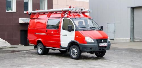 Автомобиль первой помощи на базе ГАЗ АПП-0,5-5 (2705)