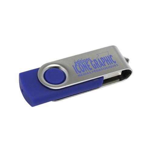 Cle USB Pivotante Couleur