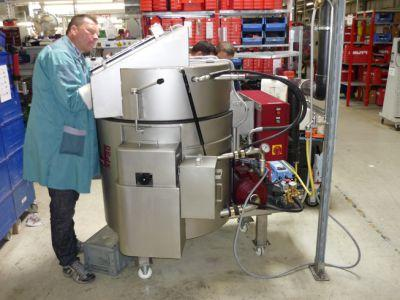 Special solution: Parts cleaning machine Clean-o-mat...