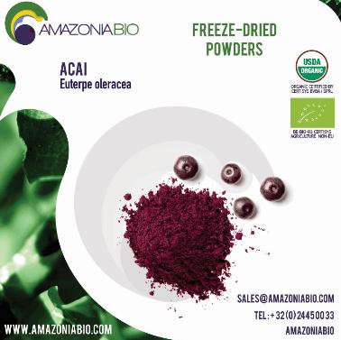 Organic Acai Freeze-Dried Powder