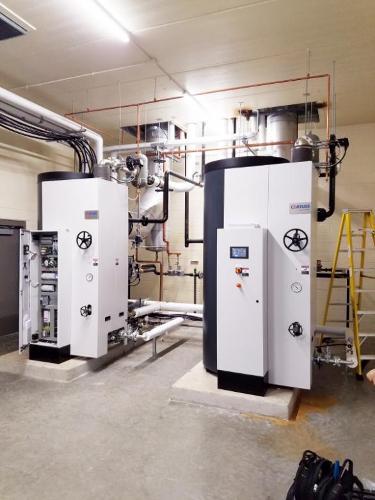 Multiple steam boiler plants - Steam Boiler