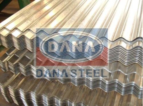 Tôles ondulées peut être l'acier galvanisé