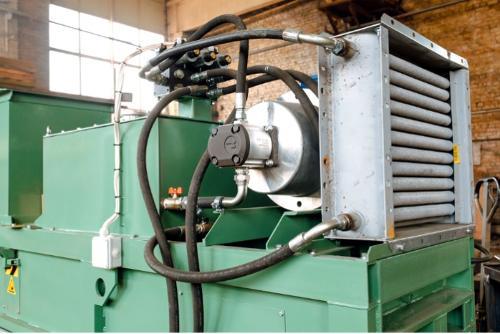 Hydraulic packing press ПГБУ-2000