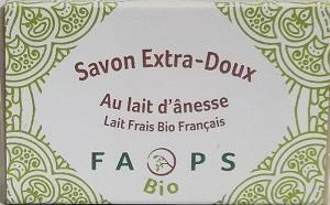 SAVON AU LAIT D'ANESSE FRAIS BIO FRANÇAIS FAIT MAIN 100G