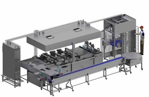 Industriedurchlaufanlage IDA 1100-20