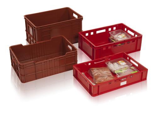 Stapelbehälter für Fleisch, Fleischindustrie