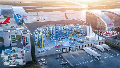 Flughafenlogistik