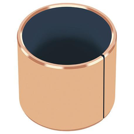 Metal-Polymer Bronze Backed PTFE Plain Bearing