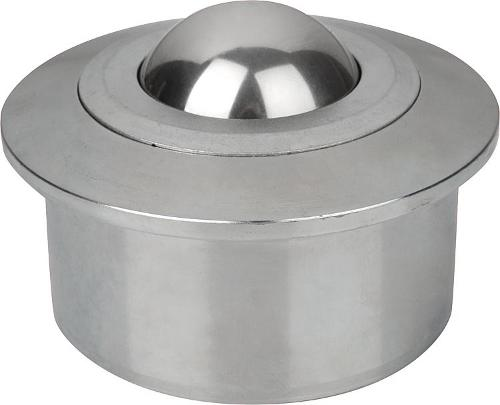 Ball transfer units with solid steel housing