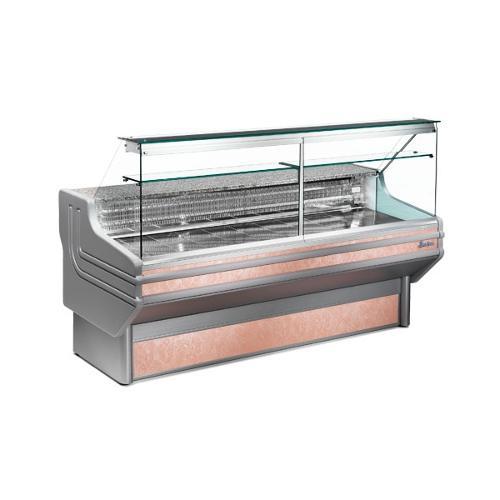 Vitrine réfrigérée 200 cm vitres droites