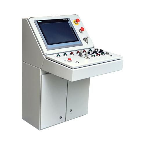Control panels for stationary machines and devices