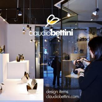 Claudio Bettini centrotavola moderno