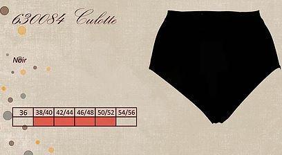Culotte noire pour ventre plat