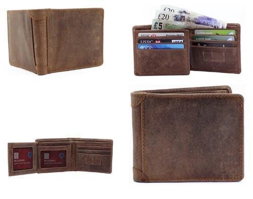 Men's Leather Wallet Vintage