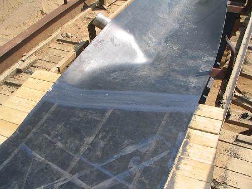 Стыковка конвейерных лент холодной вулканизацией