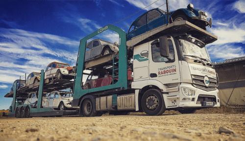 Transport de voiture de collection et de prestige