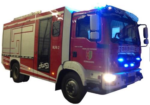Aufbau von Feuerwehrfahrzeugen