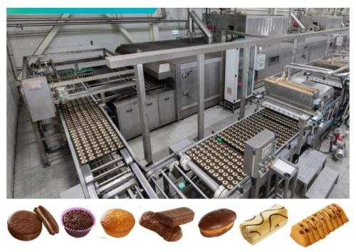 LIGNE DE PRODUCTION DE CAKES